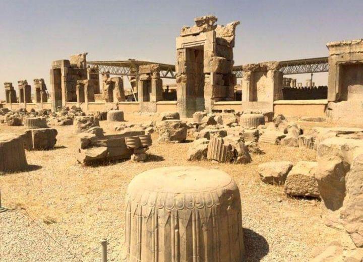 Iran ruin of persipolis
