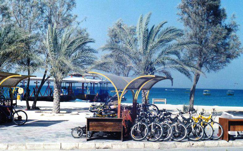 Iran Kish Island Cycling Station