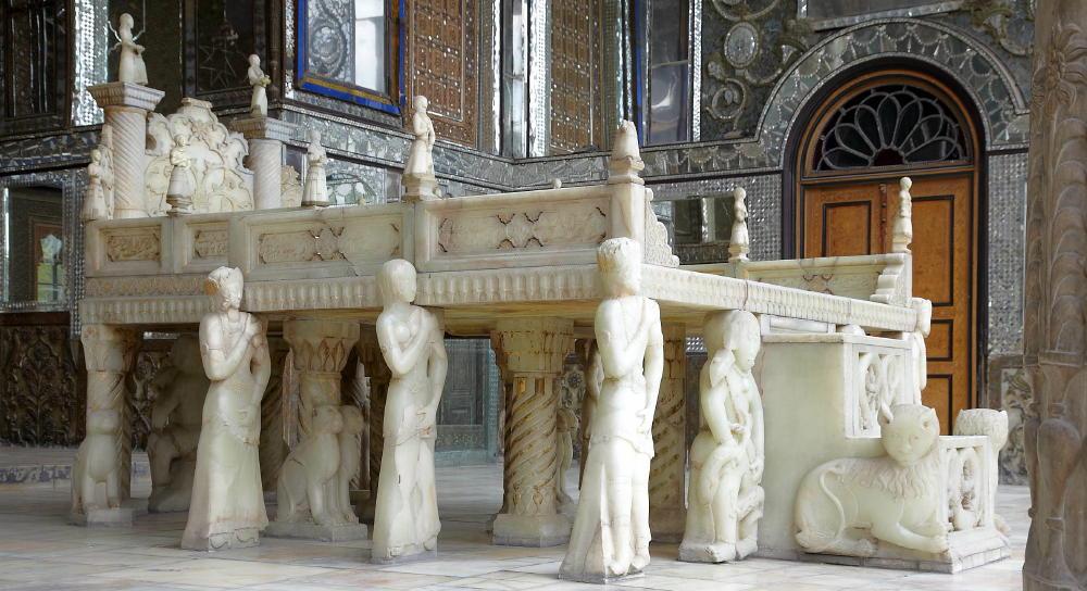 Marble Throne (takh-e-Marmar)