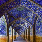 Masjid shah abbas or imam mosque in Isfahan
