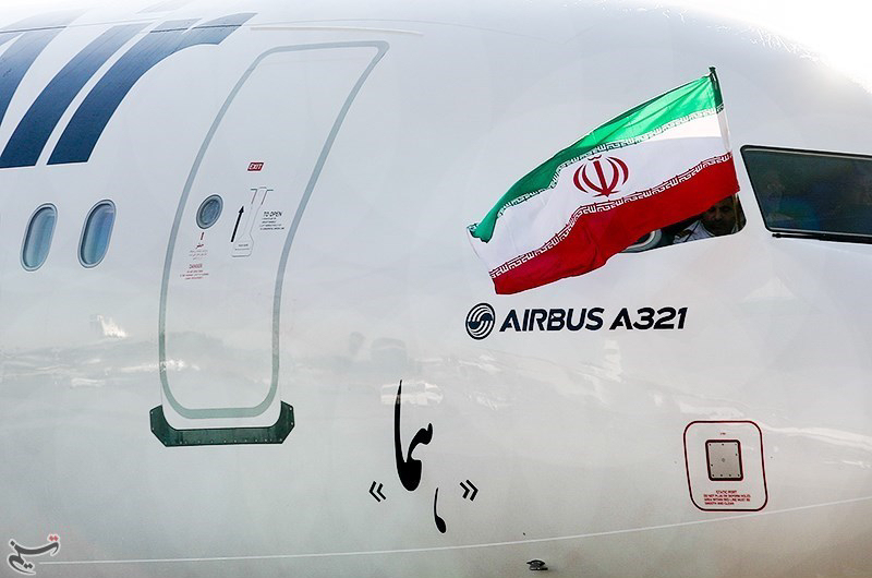 Iran internal flights